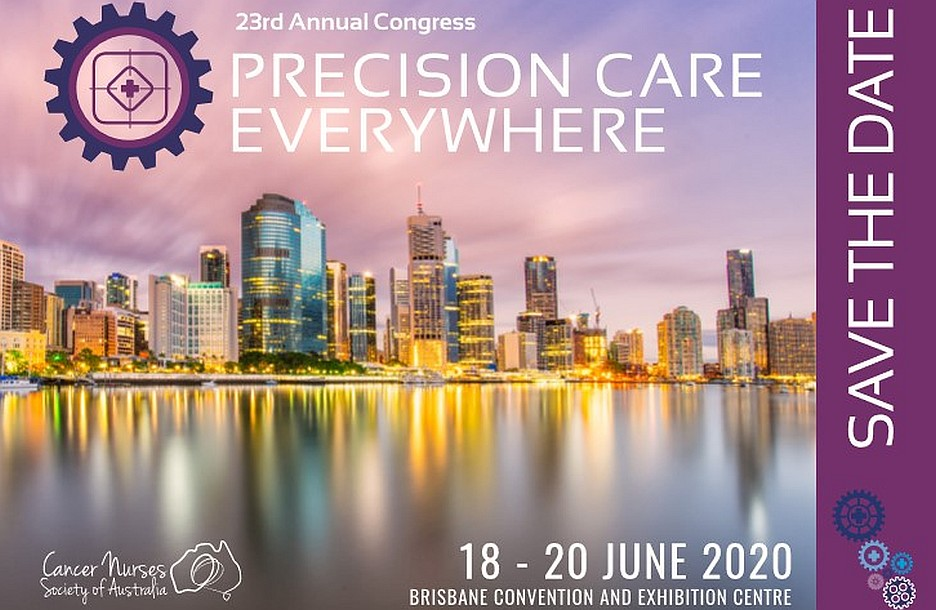 Cancer nurses – Save the date for the next annual congress